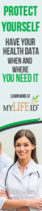 MyLifeID - Healthcare - Protect yourself - Have your health data when and where you need it 120x600